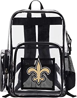 The Northwest Company New Orleans Saints NFL Dimension Clear Backpack
