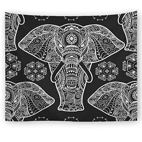 xkjymx Elefant dekorative Multifunktions Tapisserie Decke Wandbehang Strandtuch Elefant 2 150X100cm