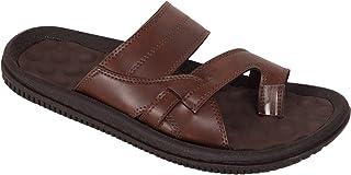BATA Men Brown Soft Slip On Chappal Sandal