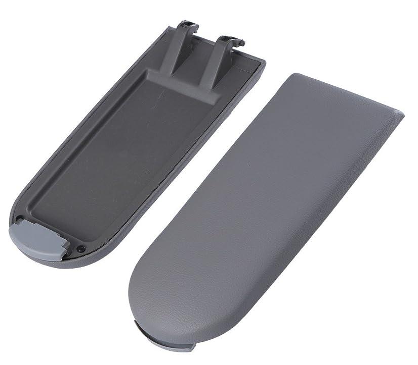 Jade Onlines Grey Arm Rest Armrest Center Console Covers Caps For VW Jetta Golf MK4 Beetle Passat Bora(1pcs)