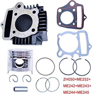 FLYPIG 47mm Cylinder Piston Gasket Top End Rebuild Kit for Honda XR CRF 90 90cc 4-Stroke