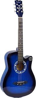 Classical Acoustic Guitar (Bright Blue) Cutaway Gitar