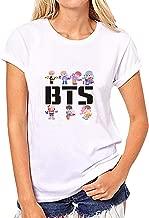Kpop BTS Merchandise Unisex Fashion Shirts Love Yourself Bangtan Tshirt Suga Tee