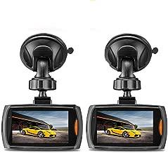"Halloween Hot Sale!!!Kacowpper 2 Pcs Dash Cam G-Sensor Full HD 1080P 2.2"" Car.."