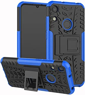 Honor 8A / Huawei Y6 Pro 2019 Case, CaseExpert Heavy Duty Shockproof Rugged Impact Armor Hybrid Kickstand Protective Cover Case for Honor 8A / Huawei Y6 Pro 2019 / Huawei Y6 2019 Blue 201903050SEG016