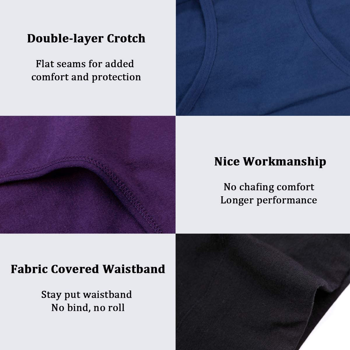wirarpa Damen Unterhosen Baumwolle Slip Damen High Waist Taillenslip Wochenbett Unterwäsche Kaiserschnitt Unterhose Mehrpack Mehrfarbig03-4er Pack