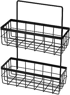 IUYJVR Accessoires de Rangement pour étagère de Douche Suspendus en Fer étagère de Salle de Bain Douche shampooing Savon é...