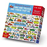 """for ages 3+ """"27"""""""" x 20"""""""" when completed."""" 48-piece puzzle – that is substantial floor size – 27 x 20""""! puzzles are printed on paper that fsc approved. Skill level: Beginner"""