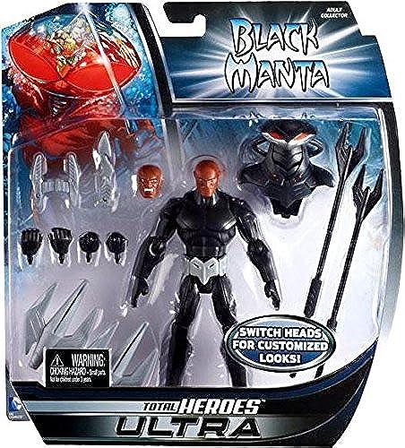 DC Universe Total Heroes Actionfigur  schwarz Manta
