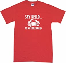 Say Hello To My Little Friend Crab Logo Men's Tee Shirt
