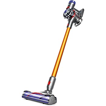 Dyson V8 Absolute Cord-Free Stick Vacuum, Iron/Yellow (Renewed)