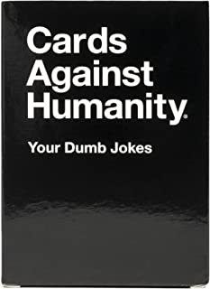 Cards Against Humanity: Your Dumb Jokes • A Pack of Blank Cards for Your Own Terrible Ideas Black