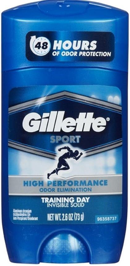 自転車ヒョウねばねばGillette Sport 48Hours ハイパフォーマンス  トレーニングデイ固形73g×2コ**並行輸入