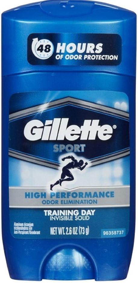 ルート抵当海嶺Gillette Sport 48Hours ハイパフォーマンス  トレーニングデイ固形73g×2コ**並行輸入
