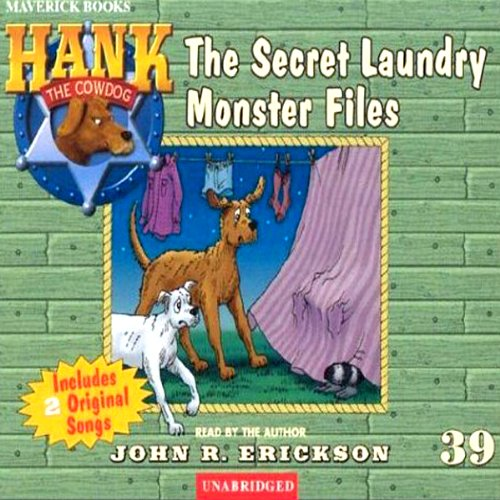 The Secret Laundry Monster Files audiobook cover art