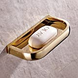 Weare Home Modern Einzigartige Design Stil Gold Kupfer Messing Retro Antik Bad Seifenschale,...