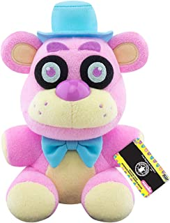 Funko Plush: Five Nights at Freddy's - Spring Colorway- Freddy (PK) Multicolor, 3.75 inches