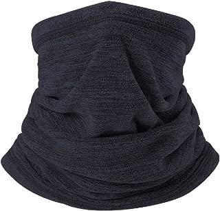TRIWONDER Fleece Neck Gaiter Tube, Neck Warmer Winter Ear Nose Warmer Neck Cover Half Balaclava Ski Mask for Cold Weather