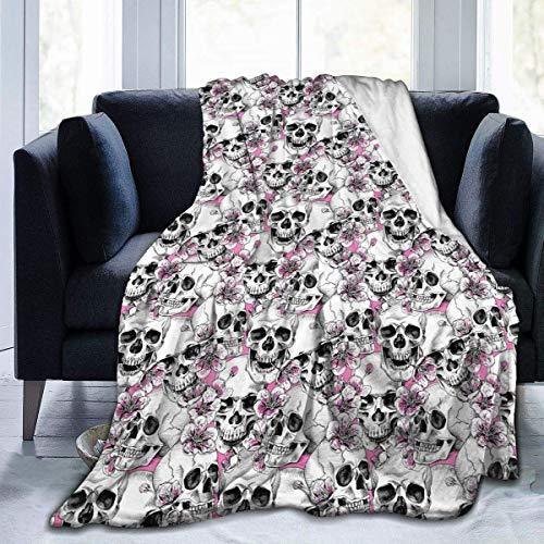 Manta de forro polar de franela de aguacate de 127 x 152 cm para sala de estar, dormitorio, sofá, sofá y cálido y suave para niños y adultos en todas las estaciones