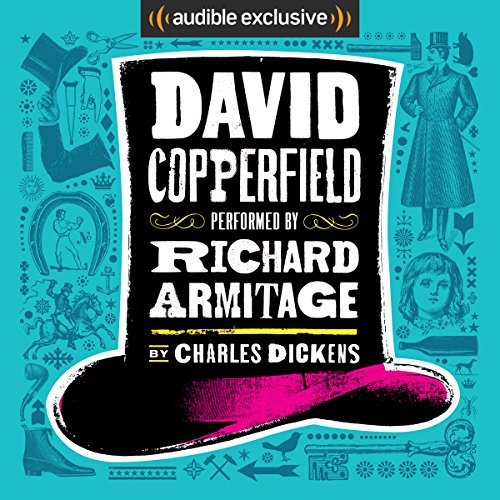 David Copperfield [Audible] audiobook cover art