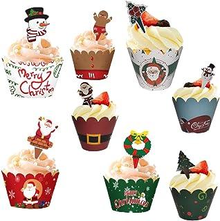 Kuchen Pappbecher 50 St/ücke Obst Backen Kuchen Pappbecher /Ölbest/ändiges Erdbeerpapier Tray Halter K/üche Cupcake F/ällen Form