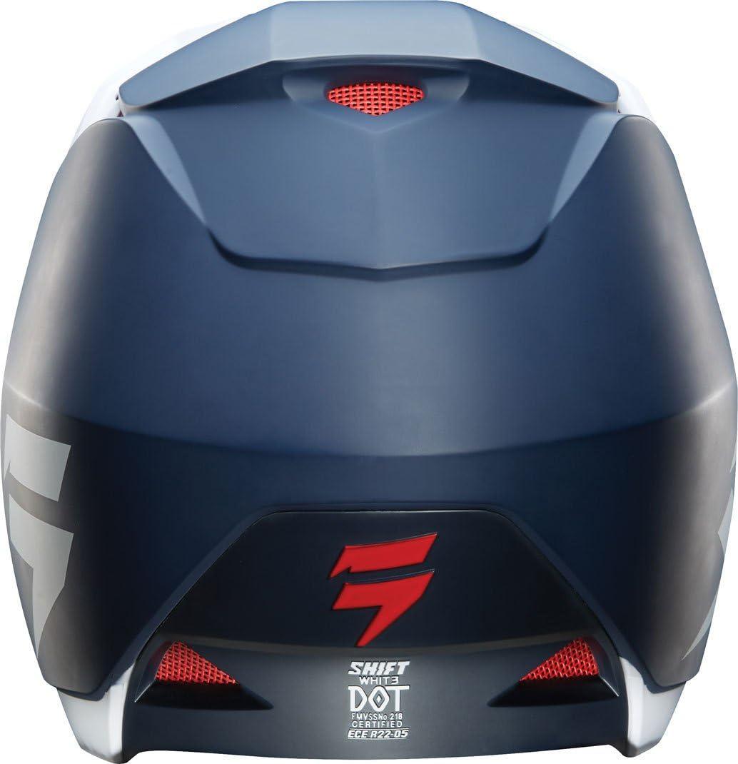 Shift Motocross-Helm Whit3 Label Matt Schwarz