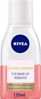 NIVEA, Face, Cleanser, Natural Fariness Eye Makeup Remover, 125ml