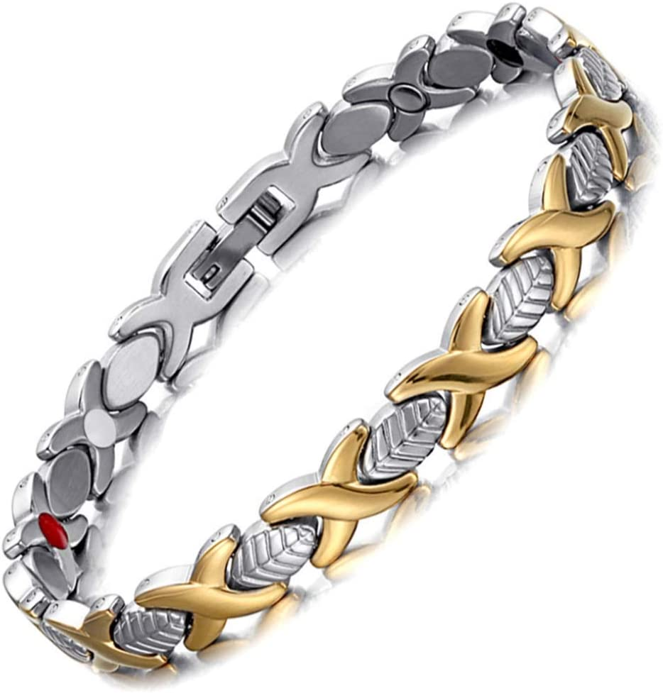 YANKAI Men's Indianapolis Mall Stainless Steel Arthritis Bracelet cheap Unisex
