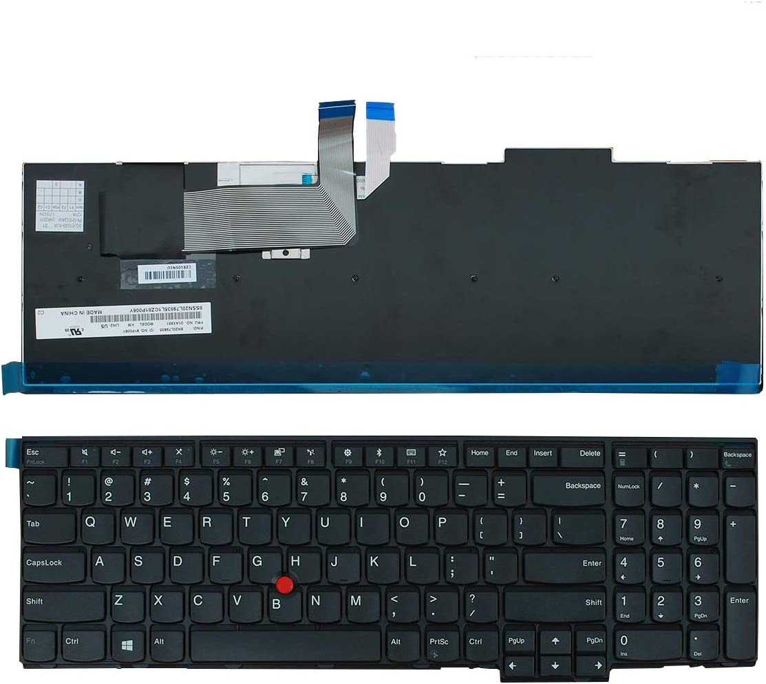 Replacement Max 86% OFF Keyboard for Lenovo ThinkPad T540 W540 W541 W55 E531 Genuine