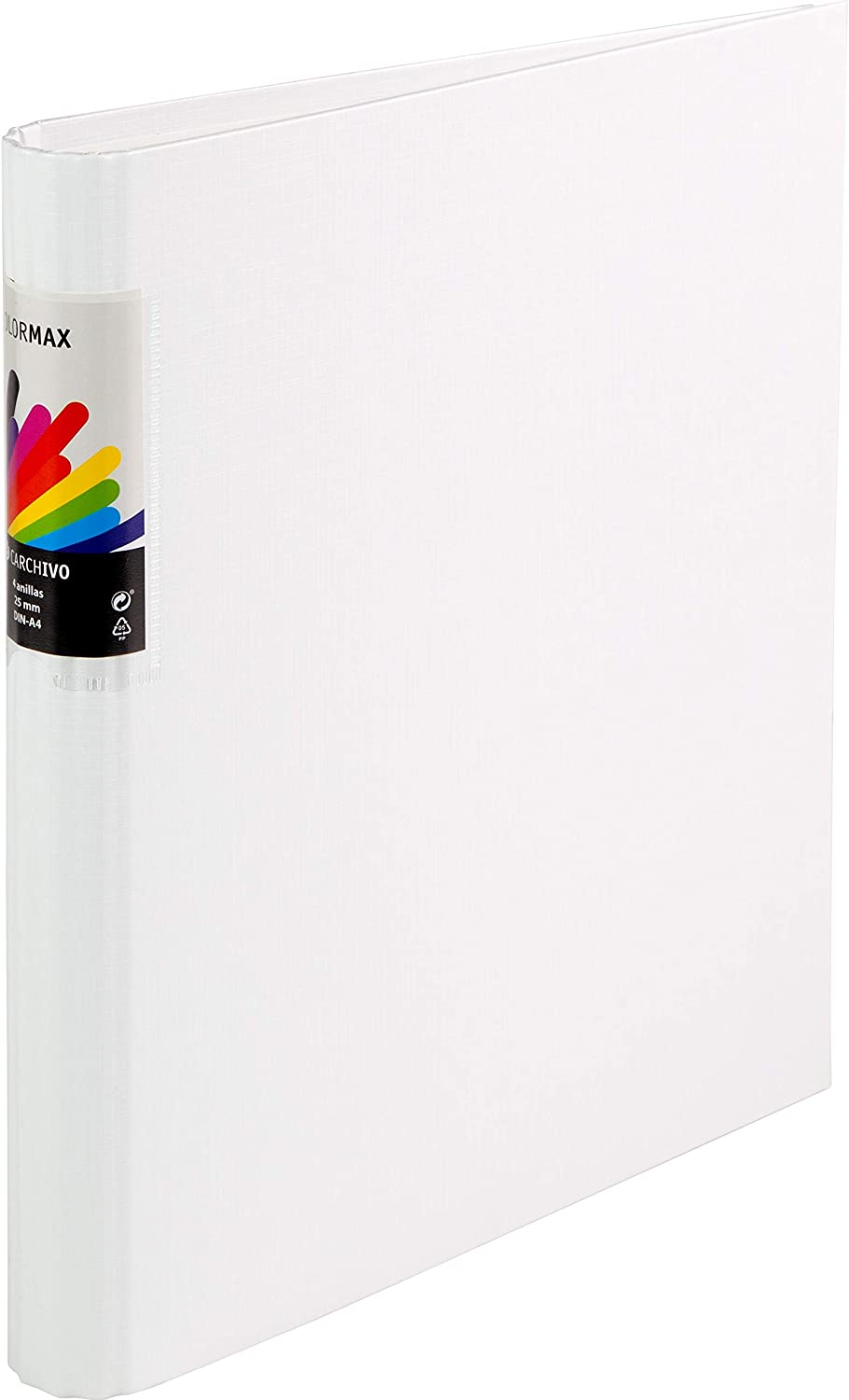 25% OFF Colormax Ring Very popular Binder Cardboard Lined A4 Mixed mm 25 4 an White