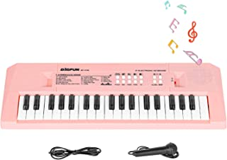 Shayson Piano for Kids, Electronic Keyboard Piano 37 Keys, Kids Piano Keyboard with Microphone, Multifunctional Keyboard P...