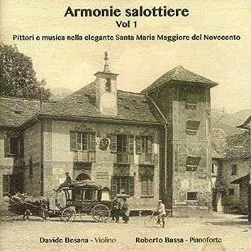 Armonie salottiere (Pittori e Musica nella elegante Santa Maria Maggiore del Novecento)