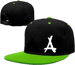 A&W Kid Ink Alumni KellyGreen Adjustable Snapback Hip Hop Music Caps