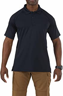 5.11 Tactical Men's Performance Short Sleeve Polo, 100% Polyester, Moisture Wicking, Style 71049
