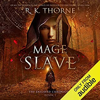 Mage Slave audiobook cover art