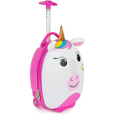 Boppi Tiny Trekker Valise de Voyage Bagage Cabine Valise à roulettes légère Bagage à Main à roulettes de 17 litres - Licorne