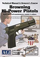 American Gunsmithing Institute Armorer's Course Video on DVD for Browning HI-Power Pistols - Technical Instructions for Disassembly, Cleaning, Reassembly and More