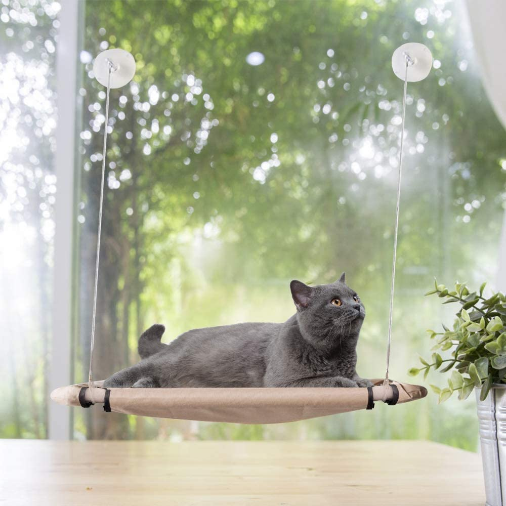 PAWISE overseas Cat Window Perch Kitty Sunny Saving Hammock Super special price Space