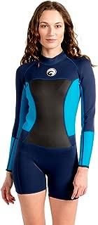 Scubadonkey 1.5 mm Neoprene Women's Shorty Wetsuit