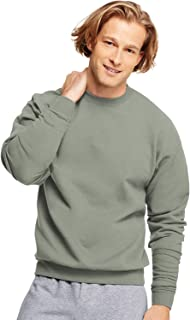 Hanes ComfortBlend EcoSmart Crew Sweatshirt_Charcoal Heather_4XL