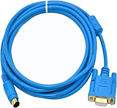 AMXAMOTION FBS-232P0-9F Suitable Fatek FBS B1Z Series PLC Programming Cable PC-FBS Download Cable Gold Plated Interface