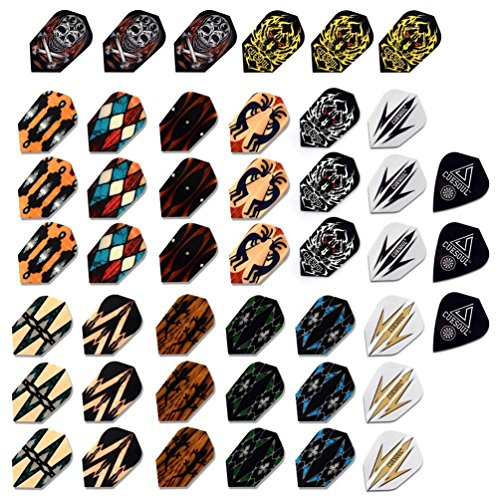 CUESOUL 15 Sets Slim Dart Flights Wholesale