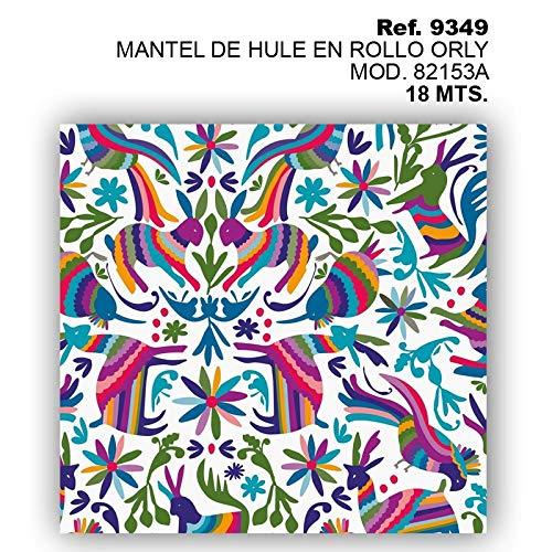Amiko Mantel DE Hule EN Rollo Orly Mod. 82153A