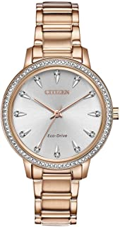 Citizen Watches Women's FE7043-55A Silhouette Crystal