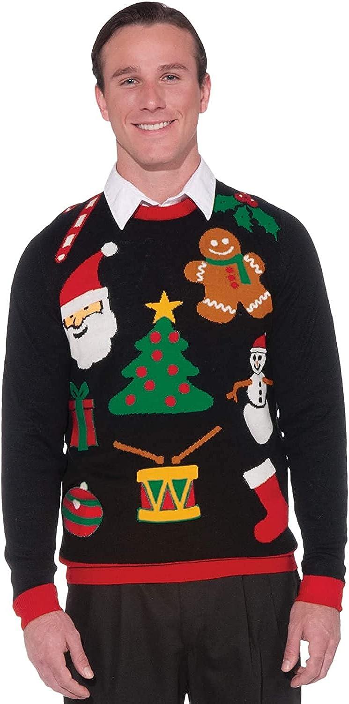 Forum Max 83% OFF Novelties Adult San Antonio Mall Everything Sweater Ugly Christmas
