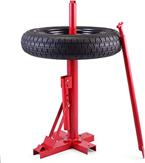 JAXPETY Red New Tools Tire Changer Manual Tire Changer Heavy Duty Changer Bead Breaker