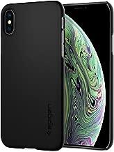Spigen Thin Fit Designed for Apple iPhone Xs Case (2018) / Designed for Apple iPhone X Case (2017) - Matte Black
