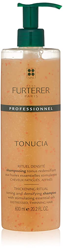 剥ぎ取るロープ分解するルネ フルトレール Tonucia Thickening Ritual Toning and Densifying Shampoo - Distressed, Thinning Hair (Salon Product) 600ml/20.2oz並行輸入品