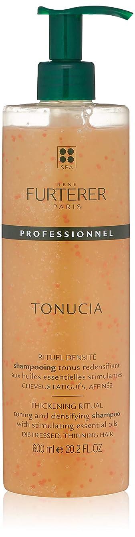 趣味電卓下に向けますルネ フルトレール Tonucia Thickening Ritual Toning and Densifying Shampoo - Distressed, Thinning Hair (Salon Product) 600ml/20.2oz並行輸入品