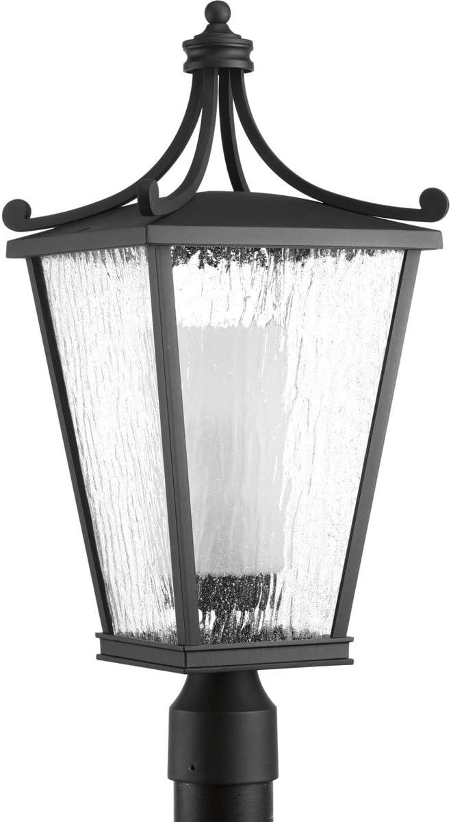 Progress Lighting P6439-31 Post in Finish Black Ranking Purchase TOP19 Lantern